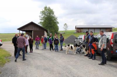 Fotoalbum Gausternwander-tag beim TSV Niederlamitz