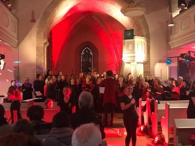 """Fotoalbum Konzert Gemischter Chor Landershausen, """"Die Chöre singen für dich"""", 28.10.17"""