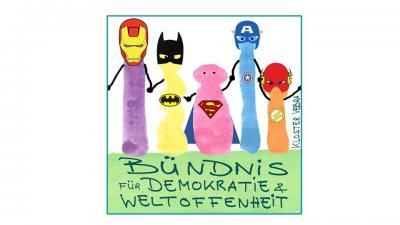 """Fotoalbum """"Superhelden gegen den braunen Dreck!"""""""