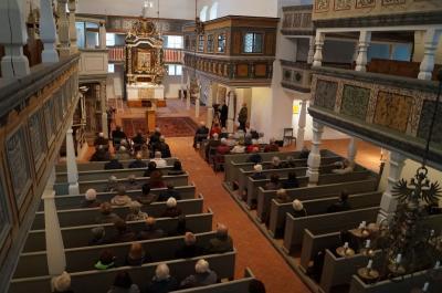 """Fotoalbum Auszeichnungsveranstaltung """"Unser Denkmal des Monats"""" Kirche Sankt Marien in Dahme/Mark"""