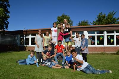 Fotoalbum Klasse 4 im Schuljahr 2016/2017