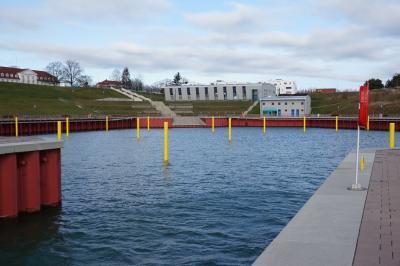Foto des Albums: Wasser im Großräschener Hafen (09.11.2017)