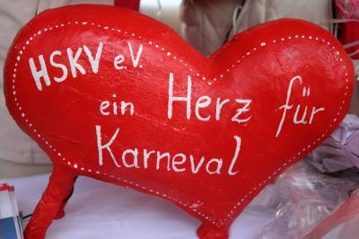 Fotoalbum Sessionseröffnung auf dem Markt der Mitgliedsvereine des HSKV