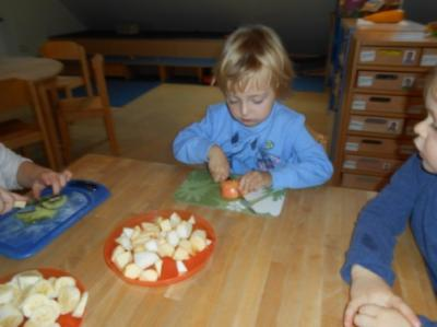 Fotoalbum Gesundes Frühstück für die Kinder