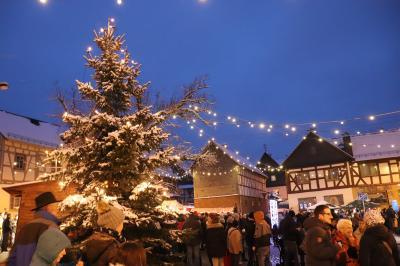 Fotoalbum Der 23. Waldsolmser Weihnachtsmarkt war wieder gut besucht