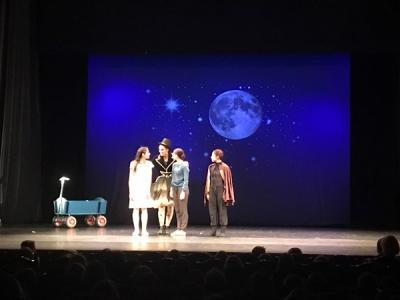 Fotoalbum Theaterfahrt Klassen 1/2 Amberg Nov 17:  Peterchens Mondfahrt