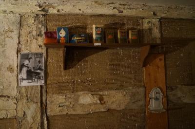 Foto des Albums: Dezemberhafte SchauPlätzchen in historischen Stadtkernen, hier SchauPlätzchen 1 in Dahme/Mark, Oberlaubenhaus Töpferstr. 17/18 (06.12.2017)