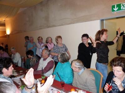 Fotoalbum Vereinsmitglieder auf der Seniorenweihnachtsfeier