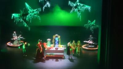 Fotoalbum Weihnachtstheater Der gelbe Nebel im Schauspielhaus Leipzig
