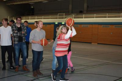 Fotoalbum Spendenaktion Basketball TG Rimbach