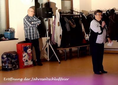 Fotoalbum Jahresabschlußfeier bei Blau-Weiss