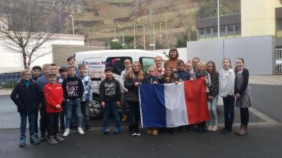 Fotoalbum Das France Mobil bringt Schülern des WHG die französische Sprache näher