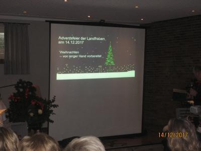 Fotoalbum Weihnachtsfeier in Kirchtimke