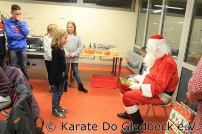 Fotoalbum Weihnachtsfeier im Karate Do Gladbeck 2017