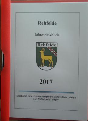 Fotoalbum Jahresrückblick 2017 des Ortschronisten