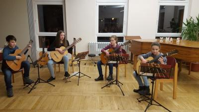 Fotoalbum Gitarrenklasse Ingrid Walter in Parchim