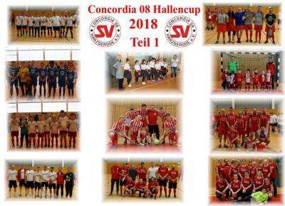 Fotoalbum SV Concordia 08 Hallencup 2018 Teil 1