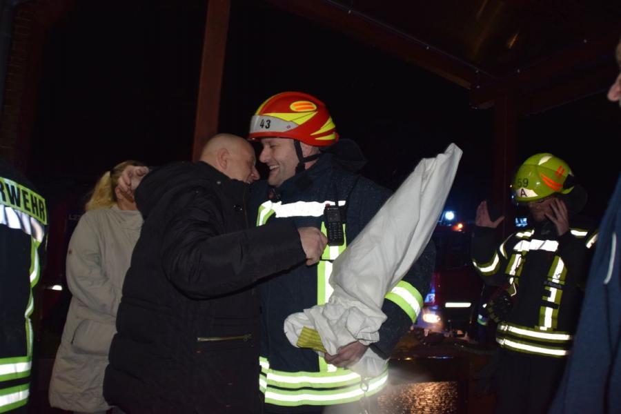 Feuerwehren Der Stadt Perleberg 60 Geburtstag Kamerad Uwe