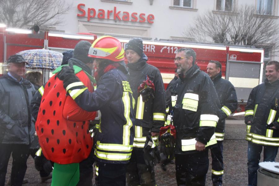 Rolandstadt Perleberg 30 Geburtstag Des Kameraden Christopher