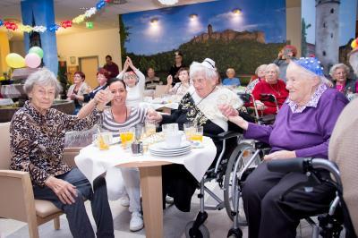 Fotoalbum Seniorenfasching in Heide Nord