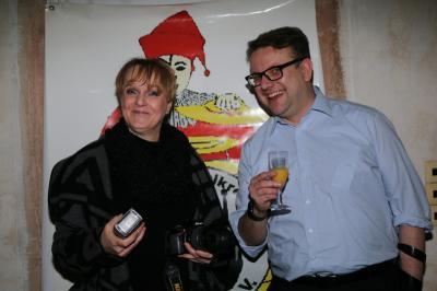 Fotoalbum Pressekonferenz zum RoMo im mittelren Saal des Brauhauses