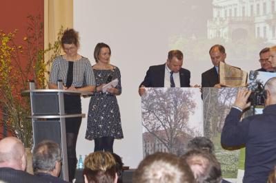 Fotoalbum Festveranstaltung Bad Muskau zur Aufnahme in den Europäischen Parkverbund Lausitz