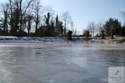 Fotoalbum Eisvergnügen auf dem Sülter Dorfteich