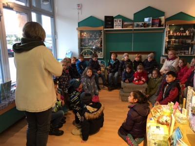 Fotoalbum Besuch in der Angeliter Buchhandlung