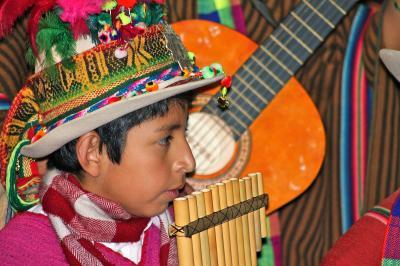 "Fotoalbum Die bolivianische Musikgruppe ""Los Masis"""