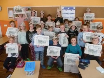 Fotoalbum LVZ Zeitungsflirt der Klasse 3a