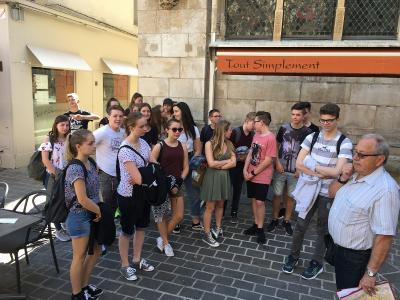 Fotoalbum Frankreich-Austausch: WHG-Schüler besuchen Partnerschulen in Châlons-en-Champagne
