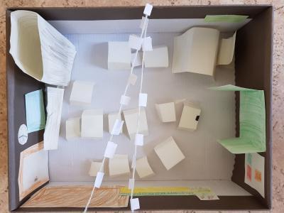 Fotoalbum Der Klassenraum im Schuhkarton