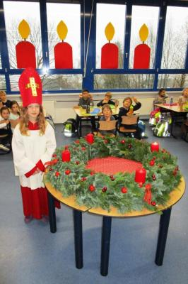 Fotoalbum Adventsfeier der Grundschule