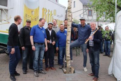 "Fotoalbum MGV ""Frohsinn"" Brandoberndorf feierte  zum 1. Mal in den Mai"