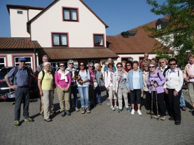 """Fotoalbum Wanderwochenende am 04.05. - 06.05.2018 in Schwarzach im Hotel """"Zum Benediktiner"""""""