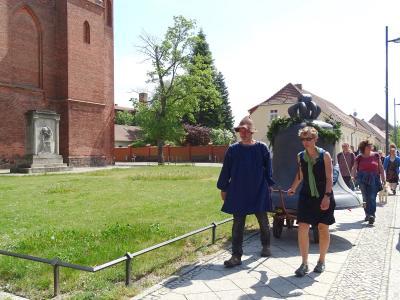 Fotoalbum Die Glocke auf dem Weg nach Bad Wilsnack machte Station in Kyritz