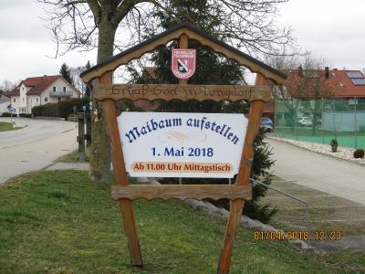Fotoalbum Maibaum 2018