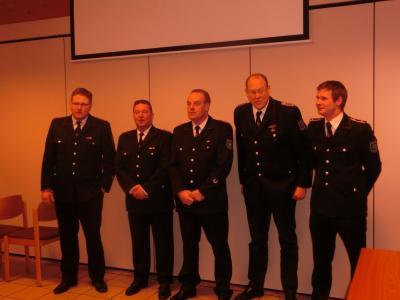 Fotoalbum Jahreshauptversammlung der Freiwilligen Feuerwehr Langeln