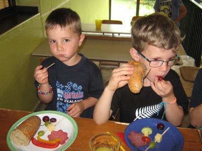Fotoalbum Gemeinsames Frühstück