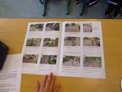 Fotoalbum Fahrradprüfung Klasse 4