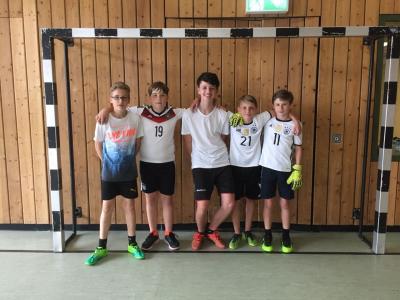 Fotoalbum Fußballturniere der Mittelstufe