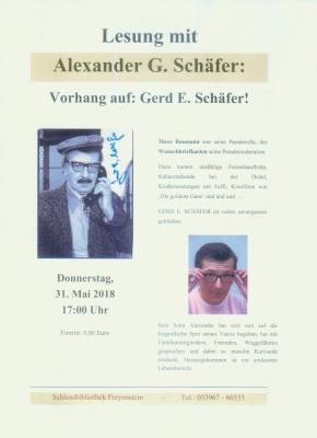 Fotoalbum Buchlesung mit Alexander G.Schäfer