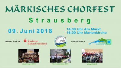 Fotoalbum Märkisches Chorfest 2018