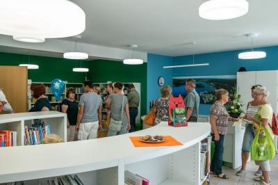 Fotoalbum Bibliothek im Rathaus - Wiedereröffnung nach Umbau