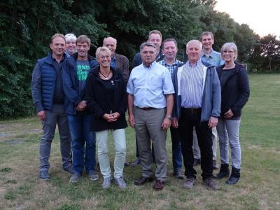 Fotoalbum 2018 neue Gemeindevertretung Klixbüll