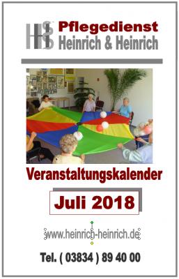 Fotoalbum Veranstaltungen im Juli