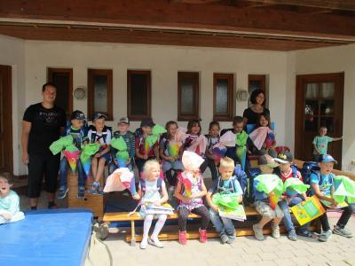 Fotoalbum Ranzenparade der Vorschulkinder