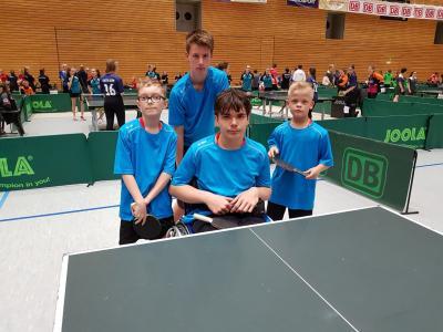 Fotoalbum Jugend trainiert für Paralympics - Bundesfinale Tischtennis