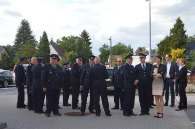 Fotoalbum Offizielle Einweihung der Feuer- und Rettungswache Falkensee