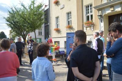 Fotoalbum Hissen der Regenbogenflagge und Gedenkveranstaltung am 26. Juni 2018